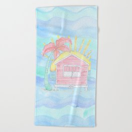 Beach Shack Vibes Beach Towel
