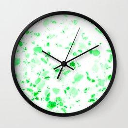 Terrazzo III Wall Clock