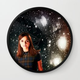 She Walked the Universe  Wall Clock