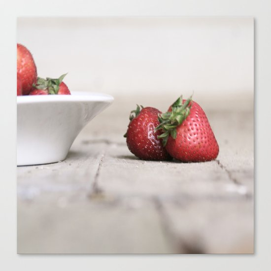 Flavor of the Summer Canvas Print