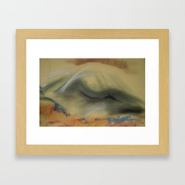 Klooster Series: Female Nude #29 Framed Art Print