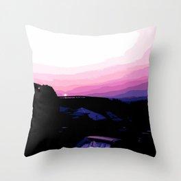 Straddie Fires Throw Pillow