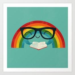 Brainbow Art Print