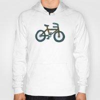 bike Hoodies featuring Bike by Jason Grube
