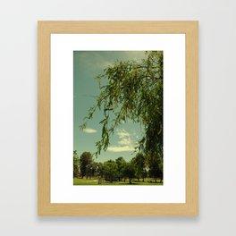 Vintage Trees Framed Art Print