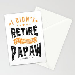 Professional Papaw Stationery Cards