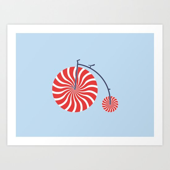 Sweet Ride Art Print