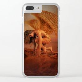Dawn Rising Clear iPhone Case