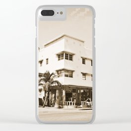 Collins Avenue, Miami Beach Clear iPhone Case