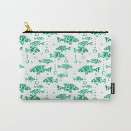 The green fish . Carry-All Pouch