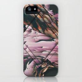 DARK ORCHID 5 iPhone Case