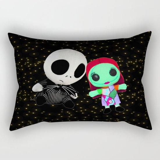 Halloween Babies | Jack | Sally | Christmas | Nightmare Rectangular Pillow