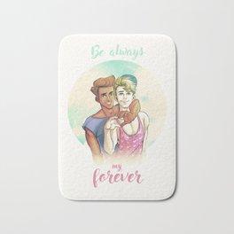 Be Always My Forever Bath Mat