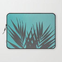 Palm Leaves #1 #Mint #decor #art #society6 Laptop Sleeve