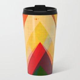 mountain print, abstract art, abstract print, giclee print, giclee art print, violet art, earth colo Travel Mug