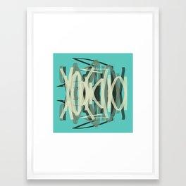 YAWN Framed Art Print