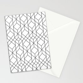Art Deco Geometry 5 Stationery Cards