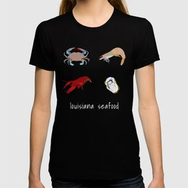 louisiana seafood T-shirt
