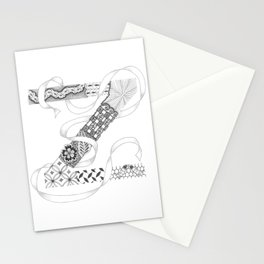 "Zenletter ""Z"" Stationery Cards"