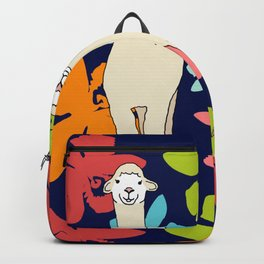 Alpaca Smile Backpack