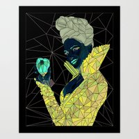 ouat Art Prints featuring Regina - OUAT by aesthetic_vampy