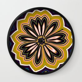 Floral message #2 Wall Clock