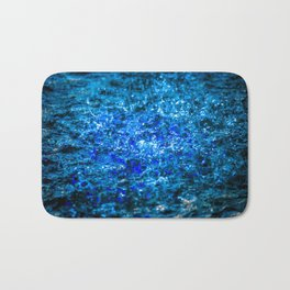 Water Color - Dark Blue - Navy Bath Mat
