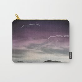PARTIALLY STARS Carry-All Pouch