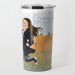 Kiss and Tell Travel Mug