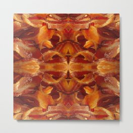 Fried Bacon Metal Print