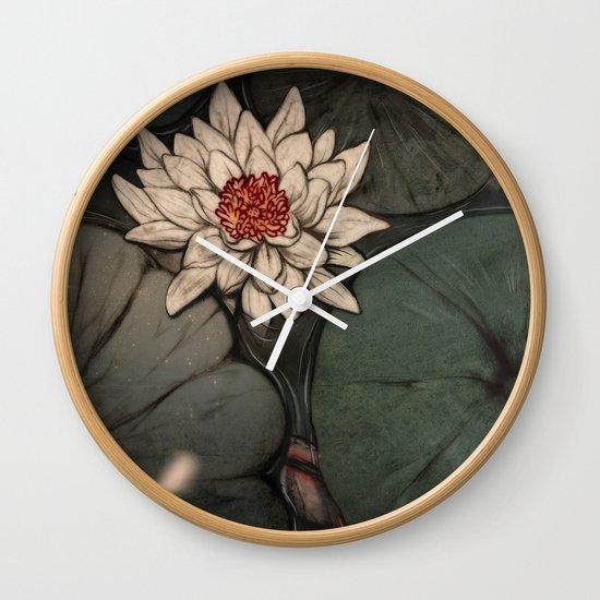 Lotus 2.0 Wall Clock