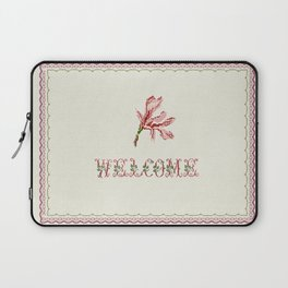 welcome - Vintage By Totalia Laptop Sleeve