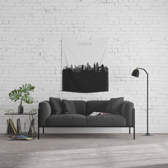 City Skylines: London Wall Tapestry