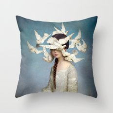 The Beginning Throw Pillow
