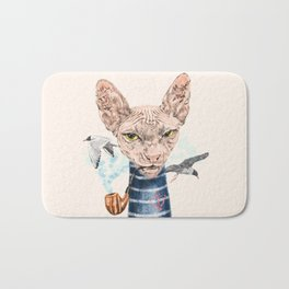 Sphynx Cat II Bath Mat