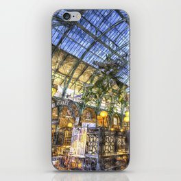 The Apple Market Covent Garden London Watercolour iPhone Skin
