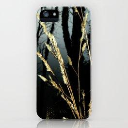 WeedsInFog iPhone Case