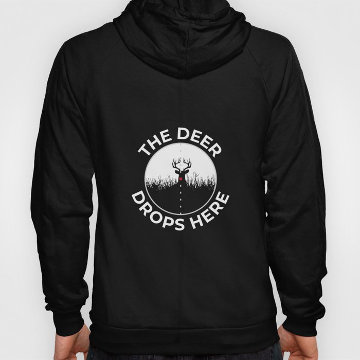 Hunting Hunter Hunting Papa Rifle Forest Hoody