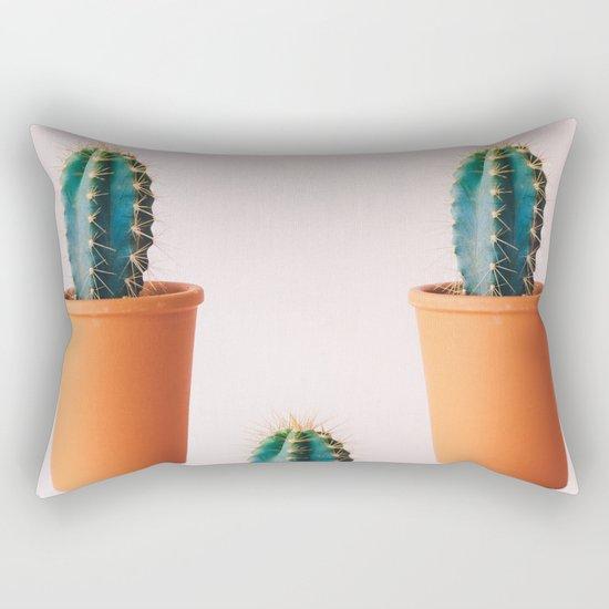 Cactus 3 pots Rectangular Pillow