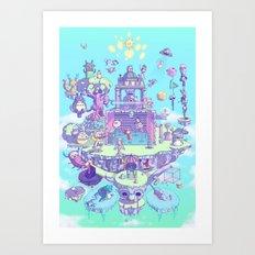 CRIATUROPOLIS Art Print