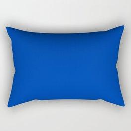 UA blue - solid color Rectangular Pillow