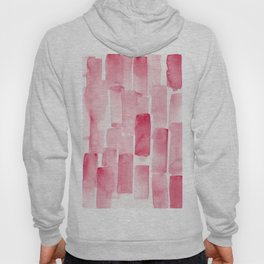 Pink  Watercolour Patterns   190129 Abstract Art Watercolour Hoody