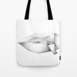 Whale Origami Tote Bag