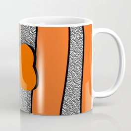 Orange ornamental fish cartoons Coffee Mug