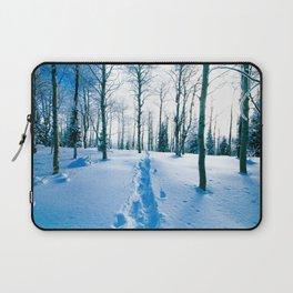 Snowshoeing Adventure Laptop Sleeve