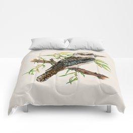 Laughing Jackass Comforters