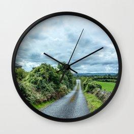 The Rising Road, Ireland Wall Clock