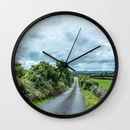 The Rising Road, Ireland Wall Clock