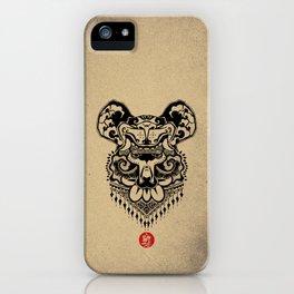 King Bear iPhone Case