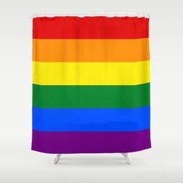 LGBT Flag Shower Curtain
